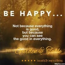 Be Happy, Not because everything is good .... #Quotes