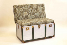 The Trunk Chair / Bench - Vintage Trunks - Custom Orders