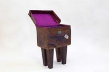 The Suitcase Side Table - Vintage - Custom orders