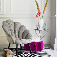 Ariel Rococo Shell Chair