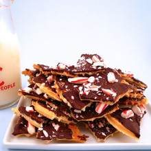 Pizzelle Peppermint Bark - 1 Pound - Home Made