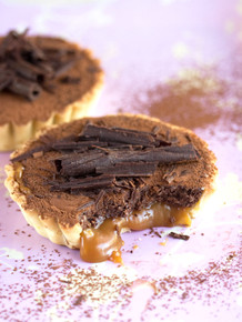 Caramel & Chocolate Tart - (Free Recipe below)