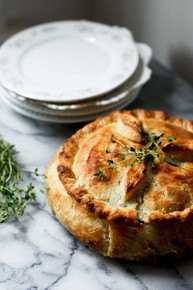 Spring Vegetable Pot Pie - (Free Recipe below)