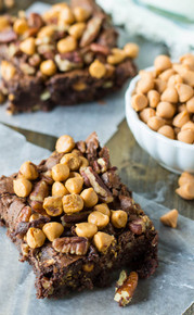Butterscotch-Pecan Brownies - (Free Recipe below)