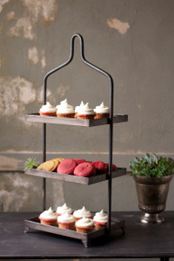 3 Tier Iron Display