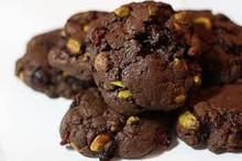 Dark Chocolate Pistachio Cookies - One Dozen