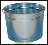 5QT GALVANIZED METAL PAIL|5QT|455-5QT|WHITCO Industiral Supplies