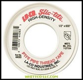 "1/2""X600' SLIC-TITE 44101 THREAD TAPE