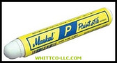 WHITE P PAINTSTIK MARKER|83420|434-83420|WHITCO Industiral Supplies