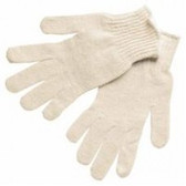SMALL COTTON/POLYESTER NATURAL STRING GLOVE