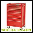 RED 12 DRAWER ROLLER CABINET 27X42"