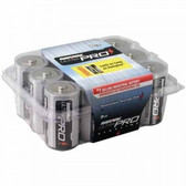 D ALKALINA BATTERY RECLOSABLE 12-PACK