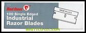 SINGLE EDGE RAZOR BLADES|3272|630-3272|WHITCO Industiral Supplies