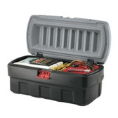 8 GAL. ACTION PACKER CARGO BOX GRAY  20-1/