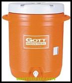 10 GALLON GOTT COOLER|1IS-ORAN|325-1610-IS-ORAN|WHITCO Industiral Supplies
