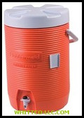 3GAL ORANGE PLASTIC WATER COOLER 1683|101-11|325-1683-01-11|WHITCO Industiral Supplies