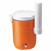 COOLER 5GAL WATER W/ CUPDISPENSER -ORAN