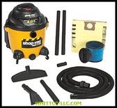 16 GAL. 6.25 PEAK HP WET/DRY VACUUM|52-10|677-962-52-10|WHITCO Industiral Supplies