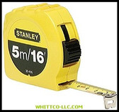 "3/4""X16'/5M TAPE MEASURE