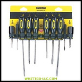 10 PIECE SCREWDRIVER SET|60-100|680-60-100|WHITCO Industiral Supplies