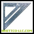 DIE CAST ALUMINUM SPEEDSQUARE W/BLACK GRA|S0101|698-S0101|WHITCO Industiral Supplies