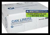 33 gallon 500 bags Clear can liners VALH3340N13