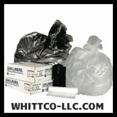 S386012K IBS INTEPLAST WHITE AND BLACK BAG IMAGE