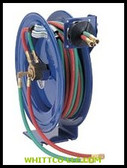 OXYGEN ACETYLENE RETRACTABLE REEL WITH 100' HOSE|N-1100|170-SHW-N-1100|WHITCO Industiral Supplies