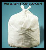 33 gallon natural can liners . 7 mil 150 bags per case Revolution bag company