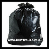 39 gallon lawn bags 1.0 mil Black 150 bags per case