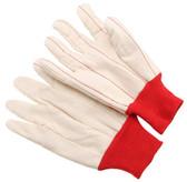 20 oz. double palm   corduroy   red knit wristsize XL D3020CDRKW-XL