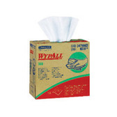 WYPALL X60 TERI Reinforced Wipers, POP-UP Box, brings the absorbing power of HYDROKNIT technology to a lighter weight wiper. Reinforced for extra scrubbing and cleaning power. Tough enough for big jobs -- soft enough for face and hands. White color.