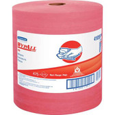 WYPALL X80 Jumbo Roll Towels, Red 41055