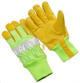 3M fluorescent tape   green mesh back   keystone thumb   size XL GHV64-XL