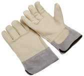 A grade cowhide   grain palm and back   wing thumb   split safety cuff   size XL 5420SC-XL