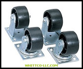 "4"" CASTER SET 4PC FOR JOBOX & JOBSITE PRODUCTS