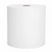 "WHITE HARD ROLL TOWEL W/1.75"" CORE 6/"