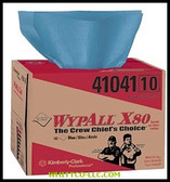 WYPALL X80 BLUE WIPER 160 SHEETS PER BOX|41041|412-41041|WHITCO Industiral Supplies