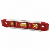 "ANCHOR BRAND 9"" MAGNETICALUMINUM TORPEDO LEVEL"