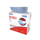 The new WypAll* X90 cloths, our highest performing wiper, provides 75% more oil absorption and 35% more water absorption with hydro-entangling polyester fiberfor softness and oil absorbency and wood fiber for water absorbency with mega-strong spunbound material using our HYDROKNIT* technology.  The result is one half of an X90 cloth. By bonding two plies together, the new WypAll* X90 cloth becomes two plies of pure efficient performance.
