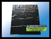 """Poly Flat bags Black 1 mil. 10"""" x 15"""" inch 1000 cnt."""