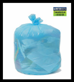 PC10XHBU Blue can liners 23x31 12-16 gallon Environmentally Preferred Can Liners