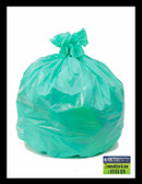 PCSJXHGN GREEN  Slim Jim can liners 28x45 .70 mil  Environmentally Preferred Can Liners