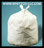 PC58XHW WHITE 38x58 .7 mil can liners 100 bags XH duty Environmentally Preferred Can Liners (PC58XHW)