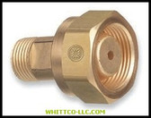 ADAPTOR CGA-520-200|306|312-306|WHITCO Industiral Supplies