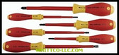 6PC ELECTRICIAN INSULATED SCREWDRIVER|32092|817-32092|WHITCO Industiral Supplies