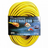 50' YELLOW EXTENSION CORD W/LIGHTED END