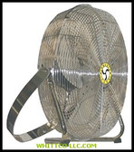 "18"" HIGH VEL LOW STAND PIVOT FAN/YOKE MT TE MOTO