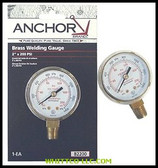 ANCHOR 2X30 RED LINE BRASS REPLACEMENT GAUGE|B230RL|100-B230RL|WHITCO Industiral Supplies