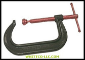 "ANCHOR 410C 10"" DROP FORGED C-CLAMP